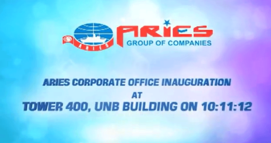 Aries Corporate Headquarters Inauguration